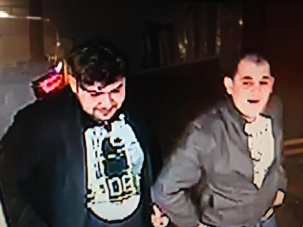 CCTV image released by police of duo they want to speak to about theft from shop