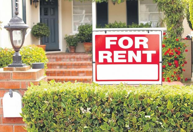 City's rents up by 14 per cent