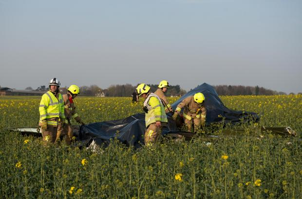 Chelmsford Weekly News: Crash scene: Picture courtesy of Essex Fire and Rescue Service