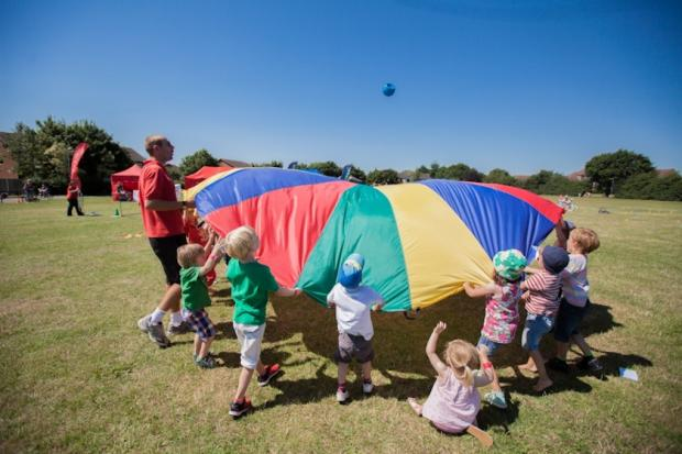 Free play sessions in Chelmsford parks for Easter