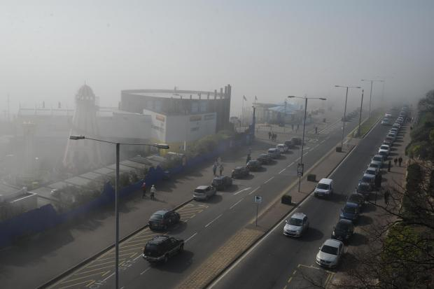 The smog is expected to hit parts of Essex