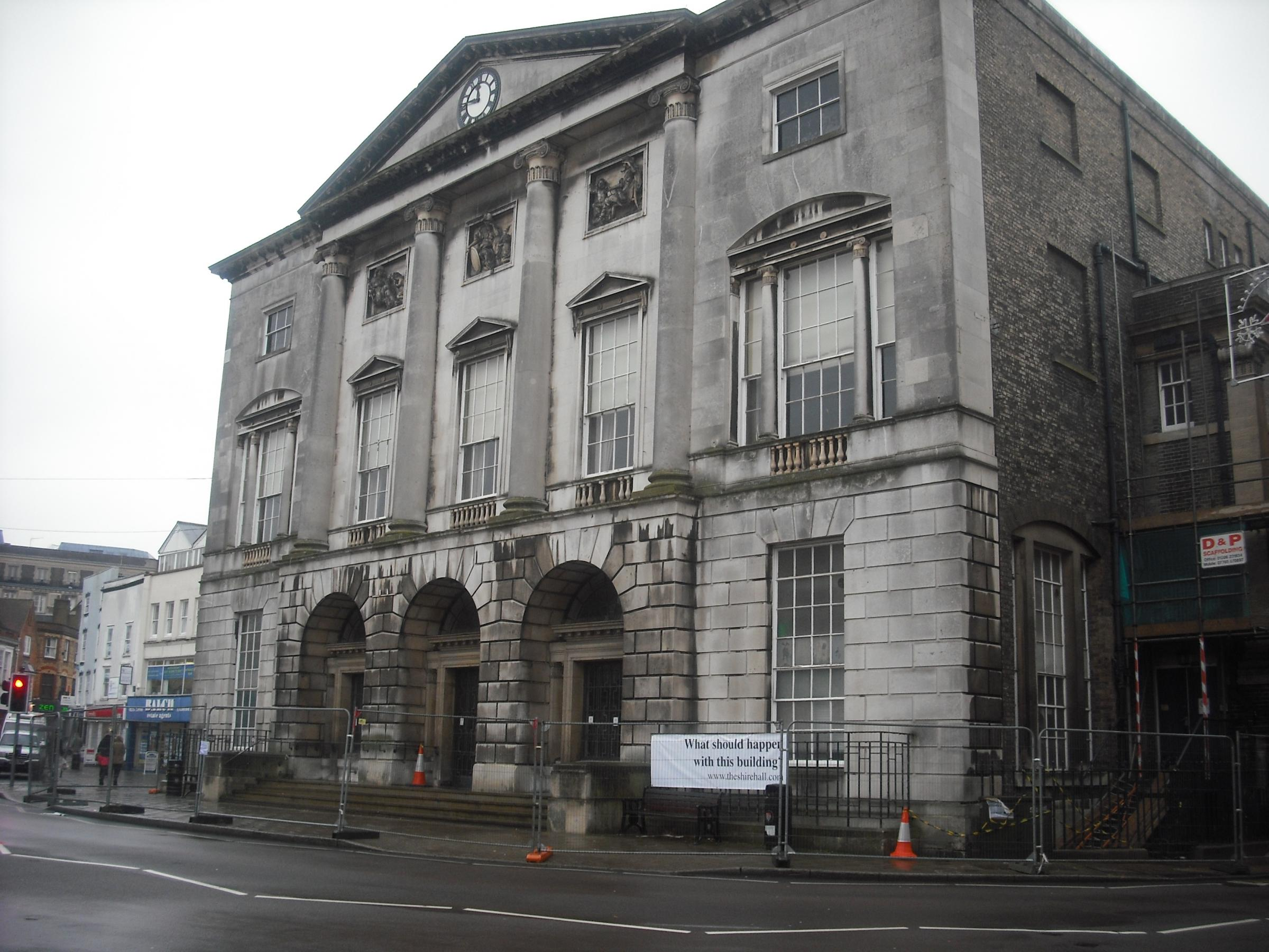 Shire Hall - before repairs