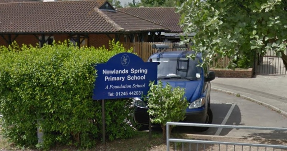 Newlands Spring Primary School Academy, in Dickens Place, lost its lollipop lady in March