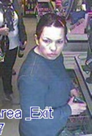 Police are looking to speak to the woman pictured in connection with the investigation.