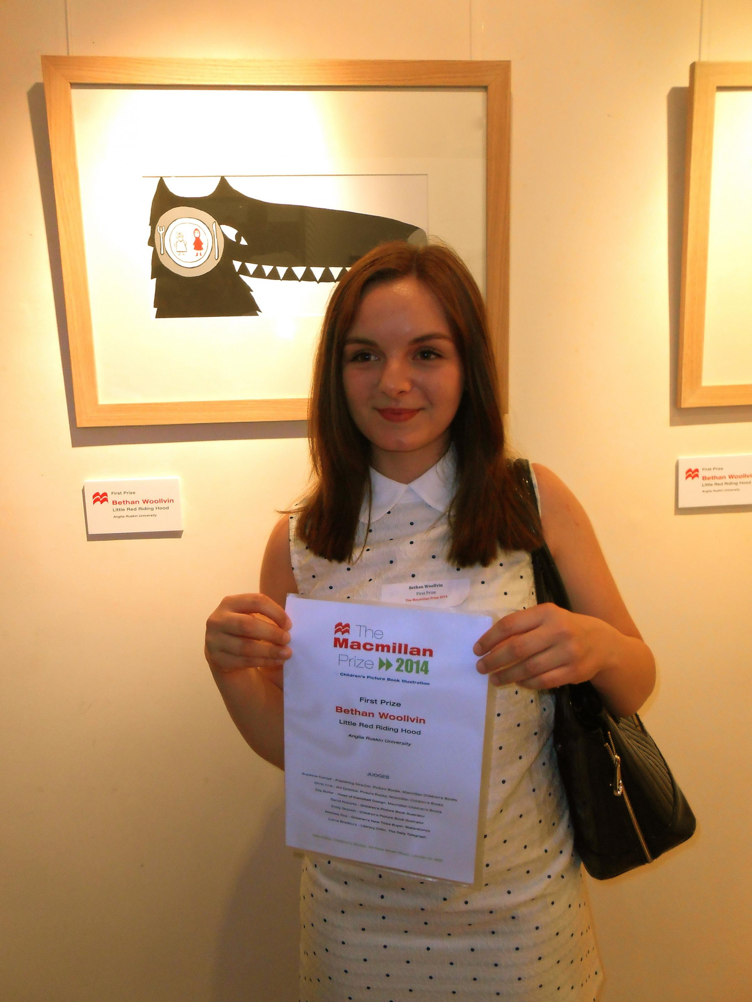 Anglia Ruskin student wins top prize