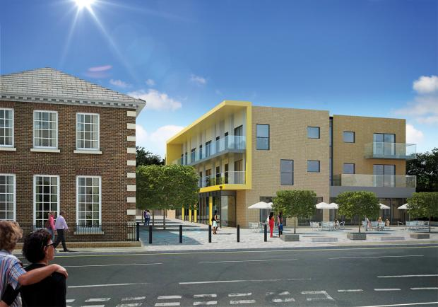 Chelmsford Weekly News: Coming soon: An artist's impression of the housing scheme