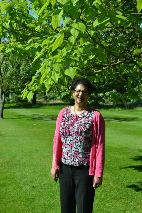 Honour: Dr Anya Perera has had her hard work rewarded