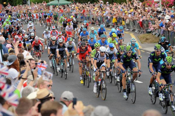 Tour de France: The riders race through Roxwell Road, Chelmsford