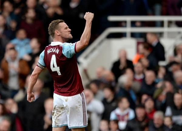 West Ham footballer Kevin Nolan is one of Lee's clients