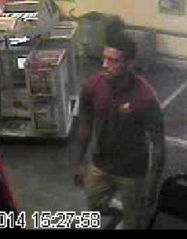 Do you recognise this man? Theft from Chelmsford Co-op