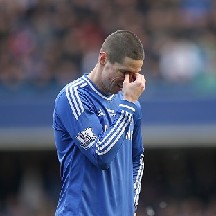 Spain's Fernando Torres has endured a frustrating time with Chelsea
