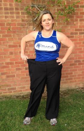 Kathryn now after losing four stone