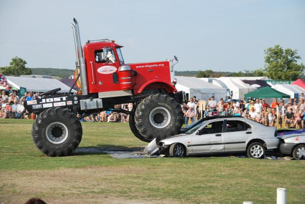 Monster Truck Big Pete, that will be performing at the Essex