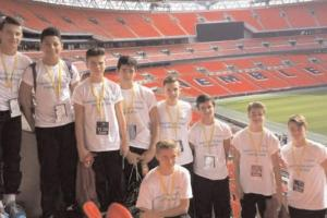 Chelmsford City youngsters enjoy Wembley