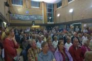 Boreham residents at a recent meeting opposing the homes plan