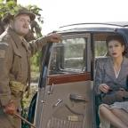 Chelmsford Weekly News: Captain Mainwaring (Toby Jones) and Rose Winters (Catherine Zeta-Jones) in Dad's Army (Universal Pictures/PA)