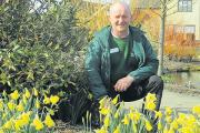Green fingers – Andrew Lodge is garden manager at Hyde Hall