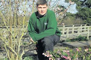 Hyde Hall apprentice, 16, looks forward to a blooming career
