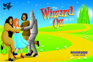 Get your skates on for a magical icy journey with the Wizard of Oz at Riverside Ice and Leisure Centre