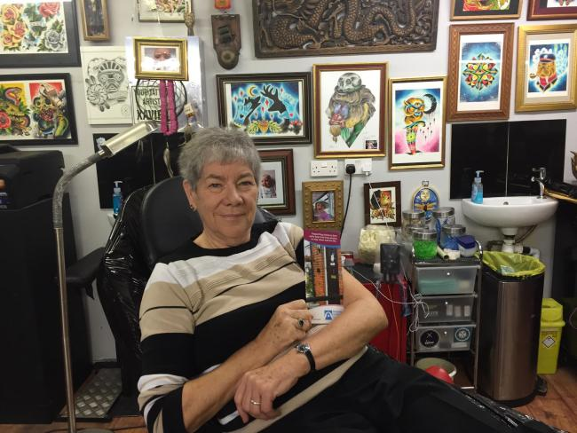 Granny will celebrate 75th birthday by getting first ever tattoo - of a charity's logo!