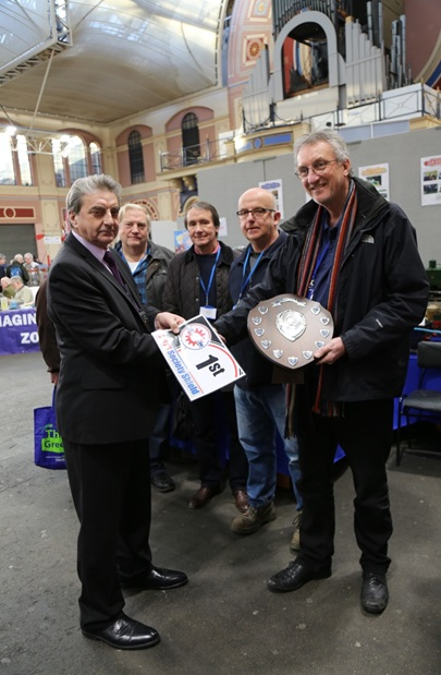 Best in Show at Alexander Palace for Model Society of Model Engineers