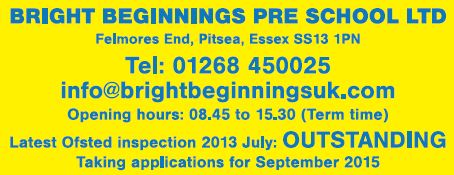 Bright Beginnings Uk Ltd