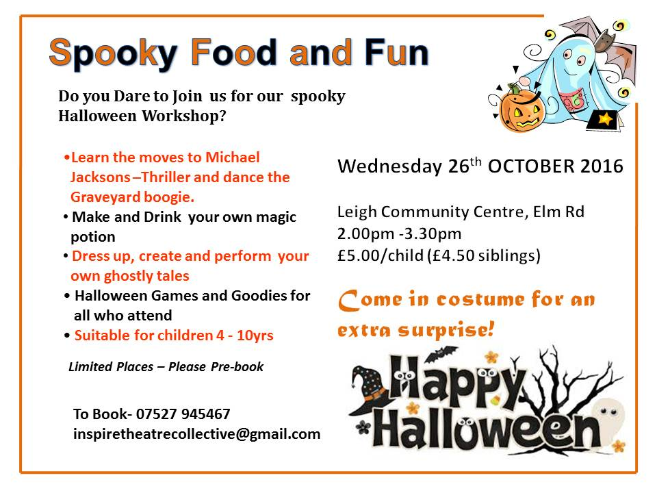 Spooky Food and Fun- Leigh