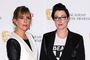 Mel and Sue swap soggy bottoms for dancing shoes to present Comic Relief celeb show