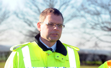 Shocking - Adam Pipe, head of roads policing with Essex Police