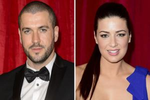 Shayne Ward and Sophie Austin proudly welcome baby Willow