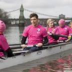 Chelmsford Weekly News: Ore Oduba, Harry Judd and Vernon Kay are making a splash in the first Celebrity Boat Race