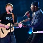 Chelmsford Weekly News: Stormzy joins Ed Sheeran for an impromptu collaboration at the Brit Awards and fans absolutely love it