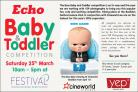 Echo holds a baby and toddler competition to celebrate the release of The Boss Baby film