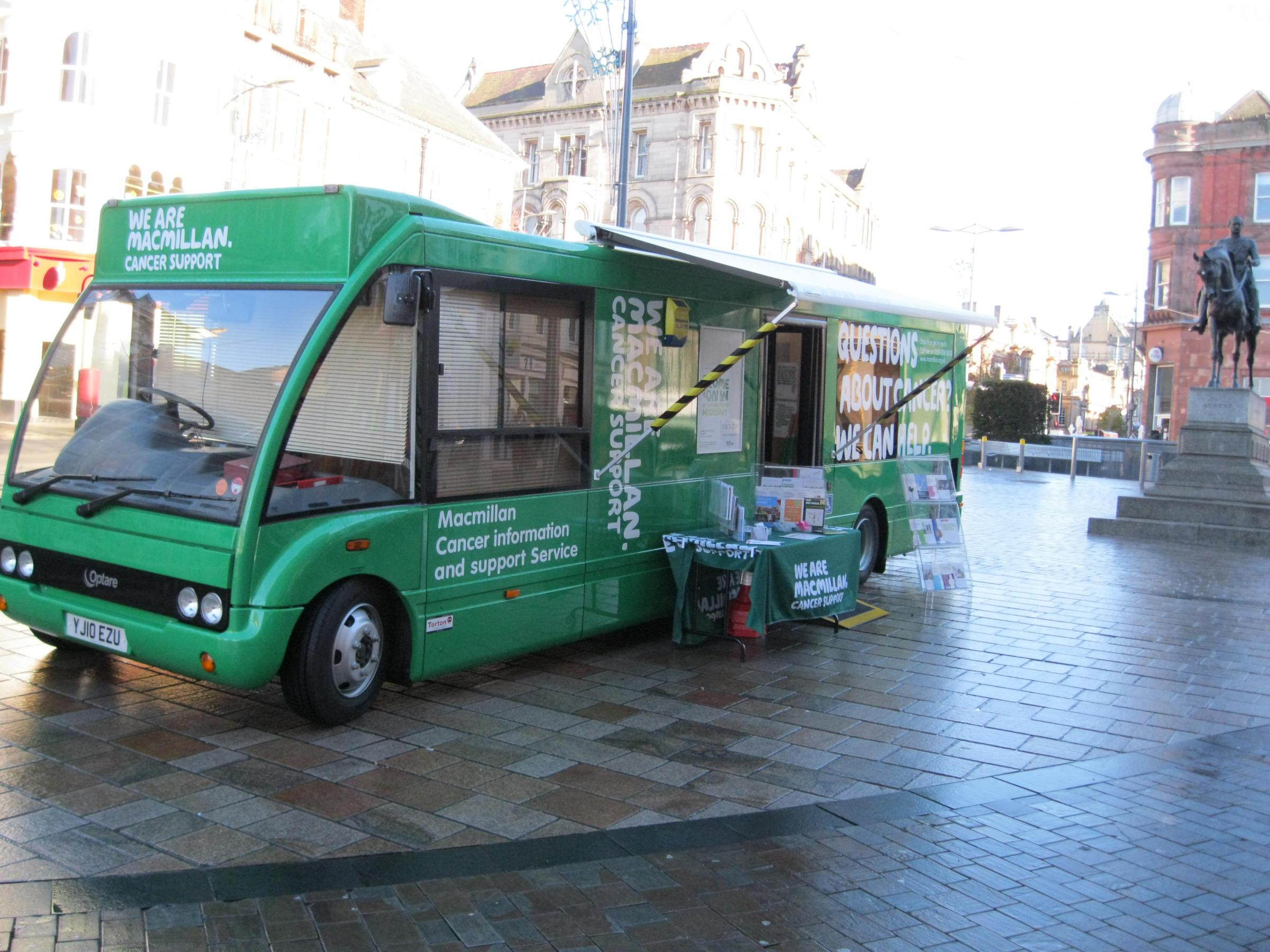 Macmillan Cancer Support Information Service in Clacton on Sea