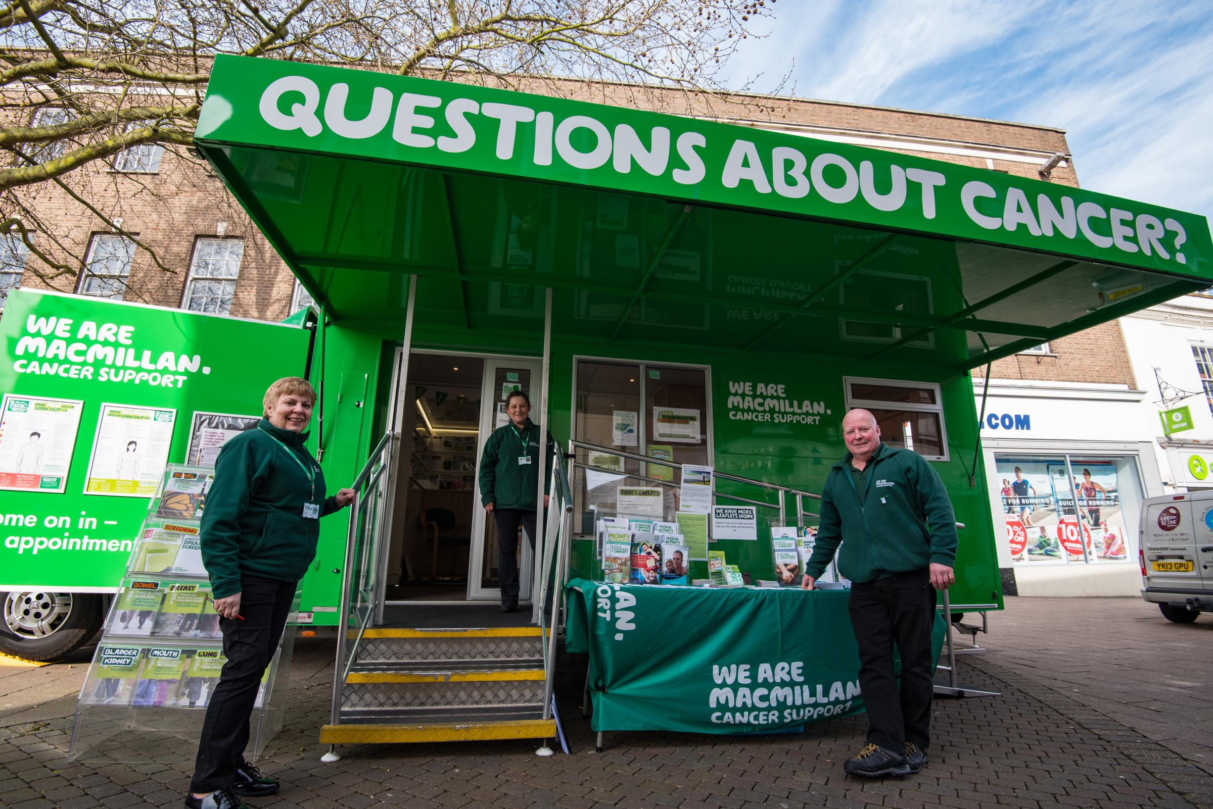 Macmillan Cancer Support Information Service in Witham