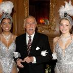 Chelmsford Weekly News: Bruce Forsyth joined by Miss Puerto Rico (left) and Miss England to celebrate his 80th birthday at the Dorchester Hotel (Anthony Devlin/PA Wire/PA Images)