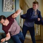 Chelmsford Weekly News: EastEnders' Jay Brown and Ben Mitchell to lock fists in explosive fight (Kieron McCarron/BBC)