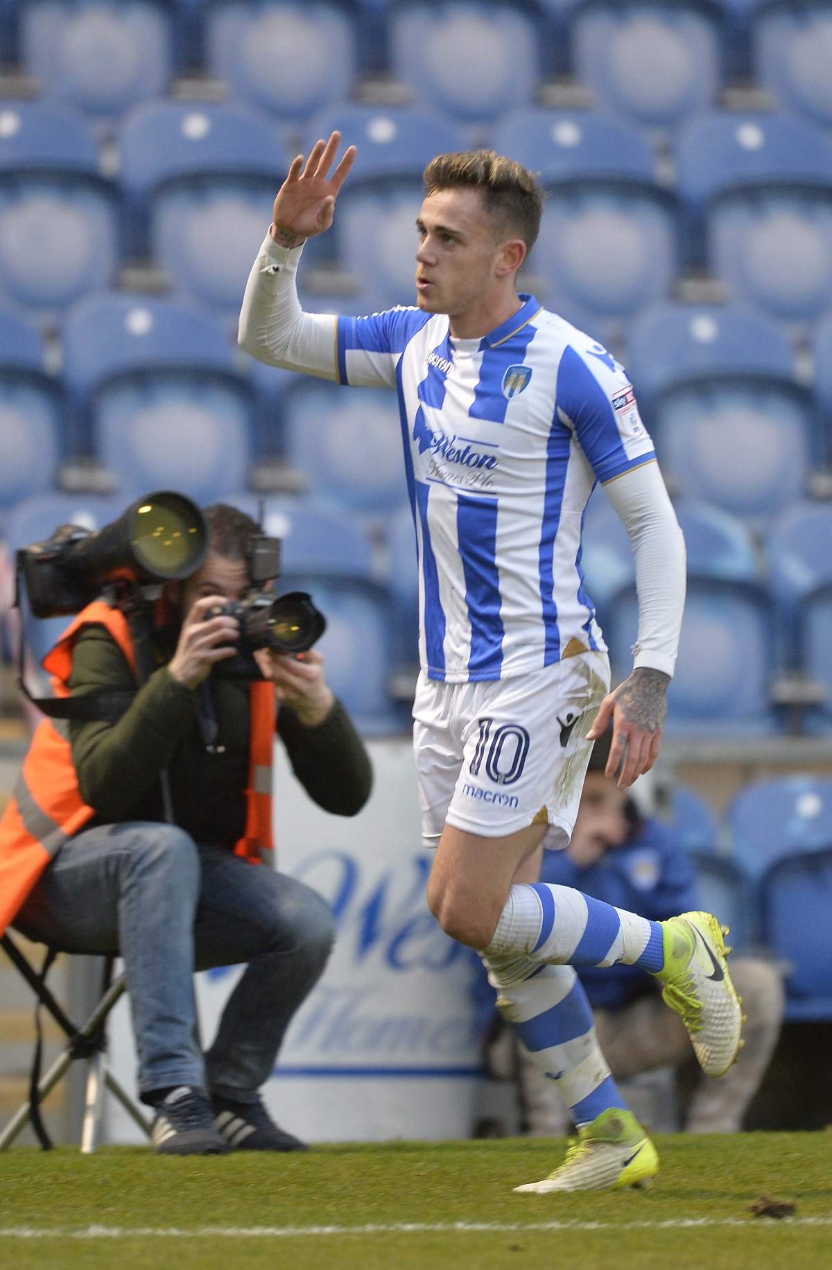 On his way? Sammie Szmodics could be leaving Colchester United