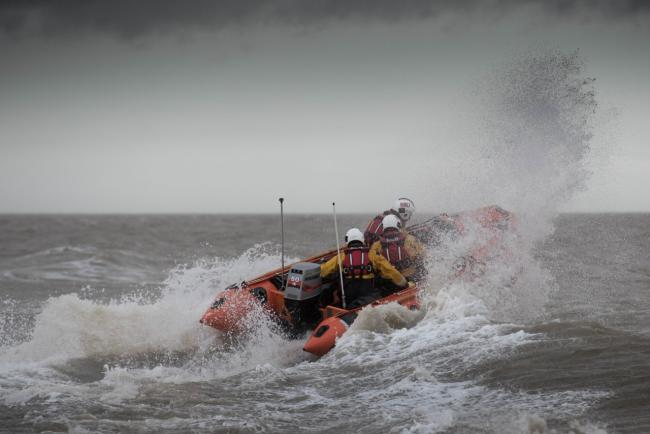 Lifeboat goes to aid of sailor off Gunfleet Sands Windfarm