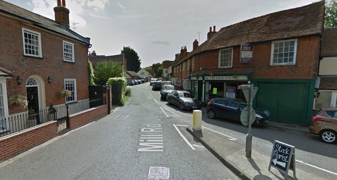 Village shop burgled in the early hours