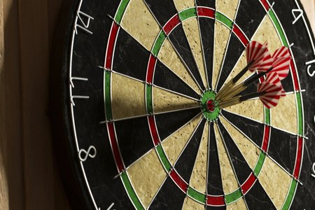 Compasses victorious in Darts Cup