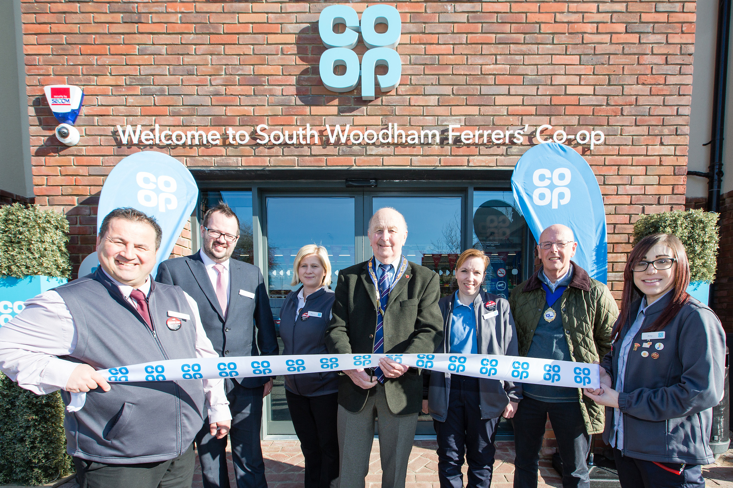 New Co-op opens in South Woodham Ferrers