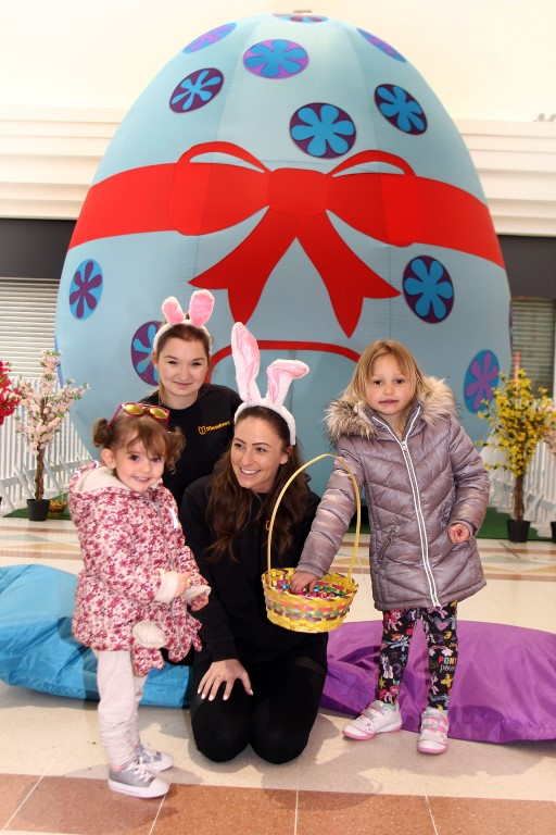 An inflatable Easter egg has come to Chelmsford