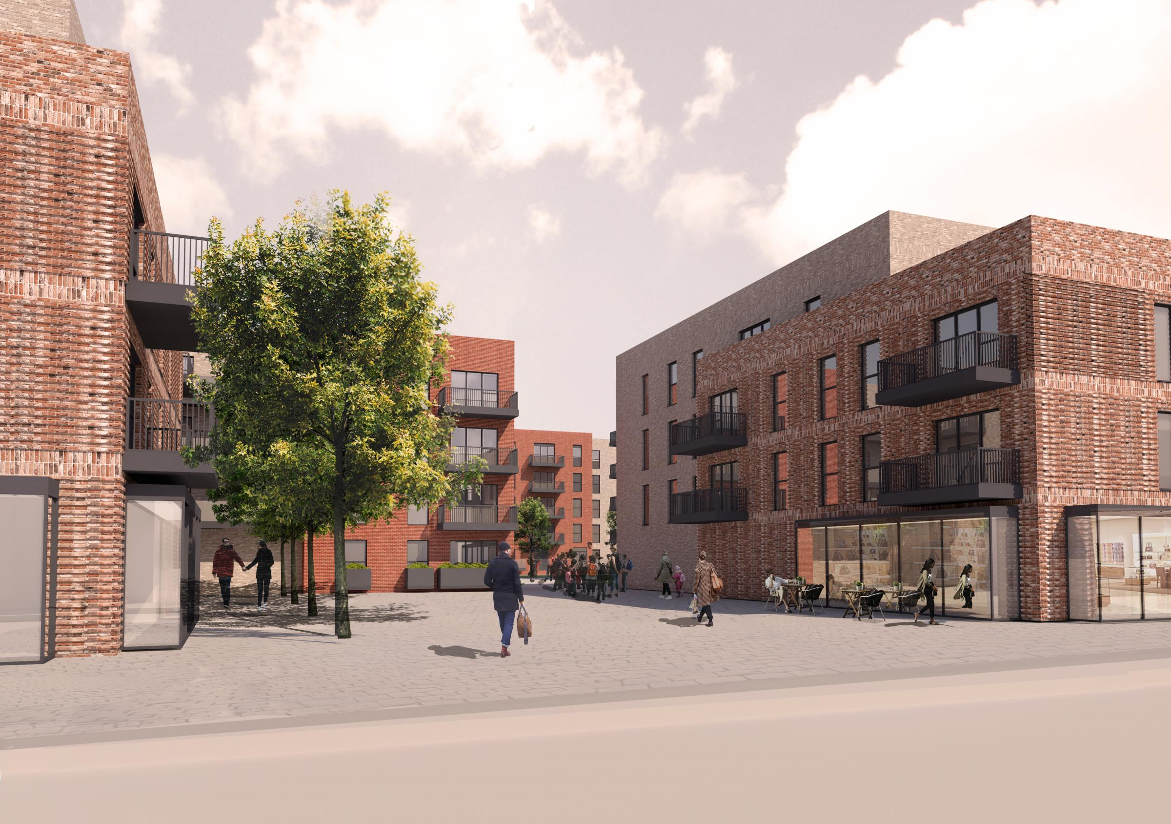 Plans unveiled for new flat development ahead of public consultation