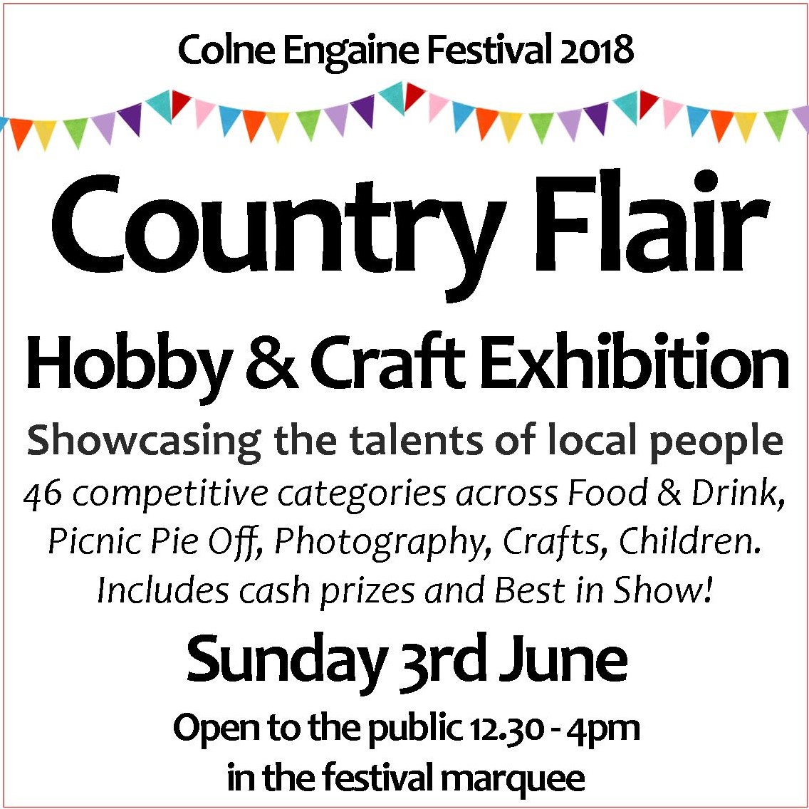 Country Flair Hobby & Craft Exhibition at Colne Engaine Festival