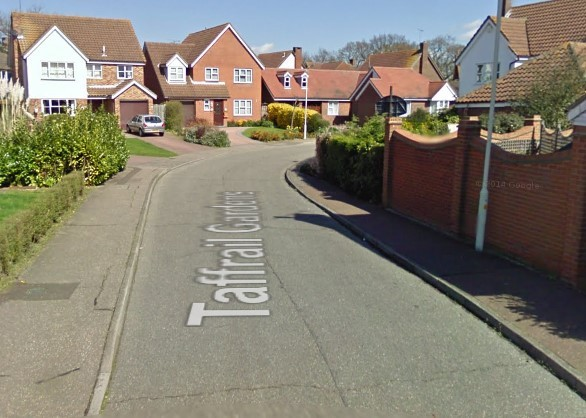 A girl was assaulted when walking between Taffrail Gardens and Broughton Road in South Woodham Ferrers