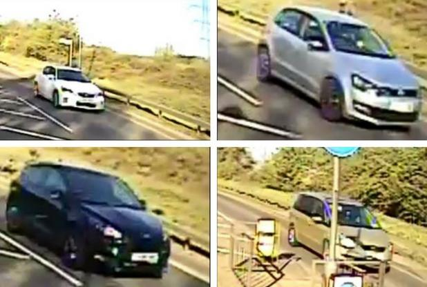 Help - it is believed the drivers of these cars may have seen Julie being murdered