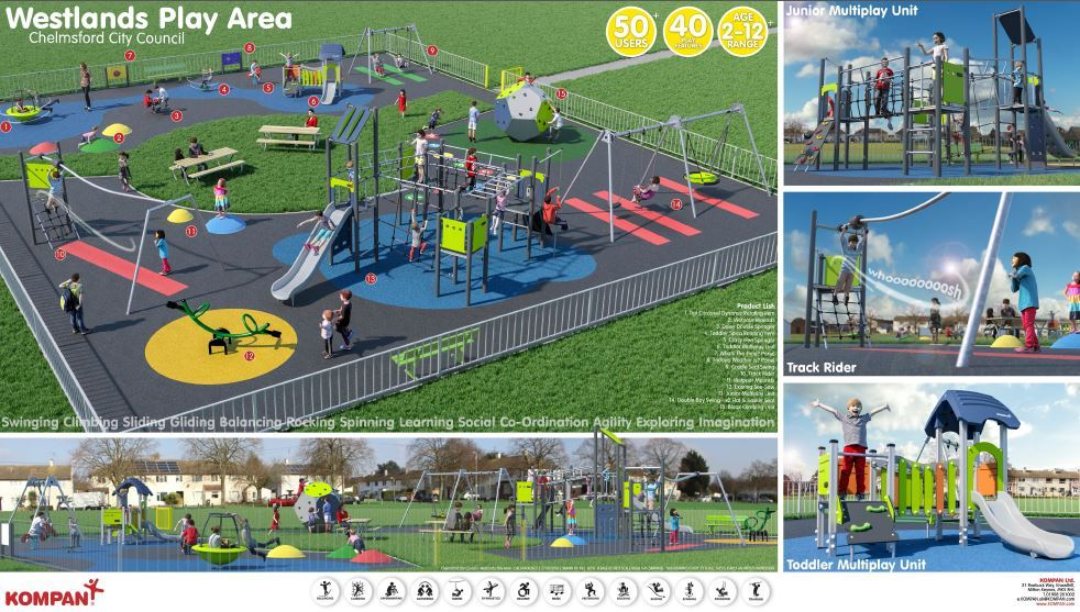 Westlands Play area