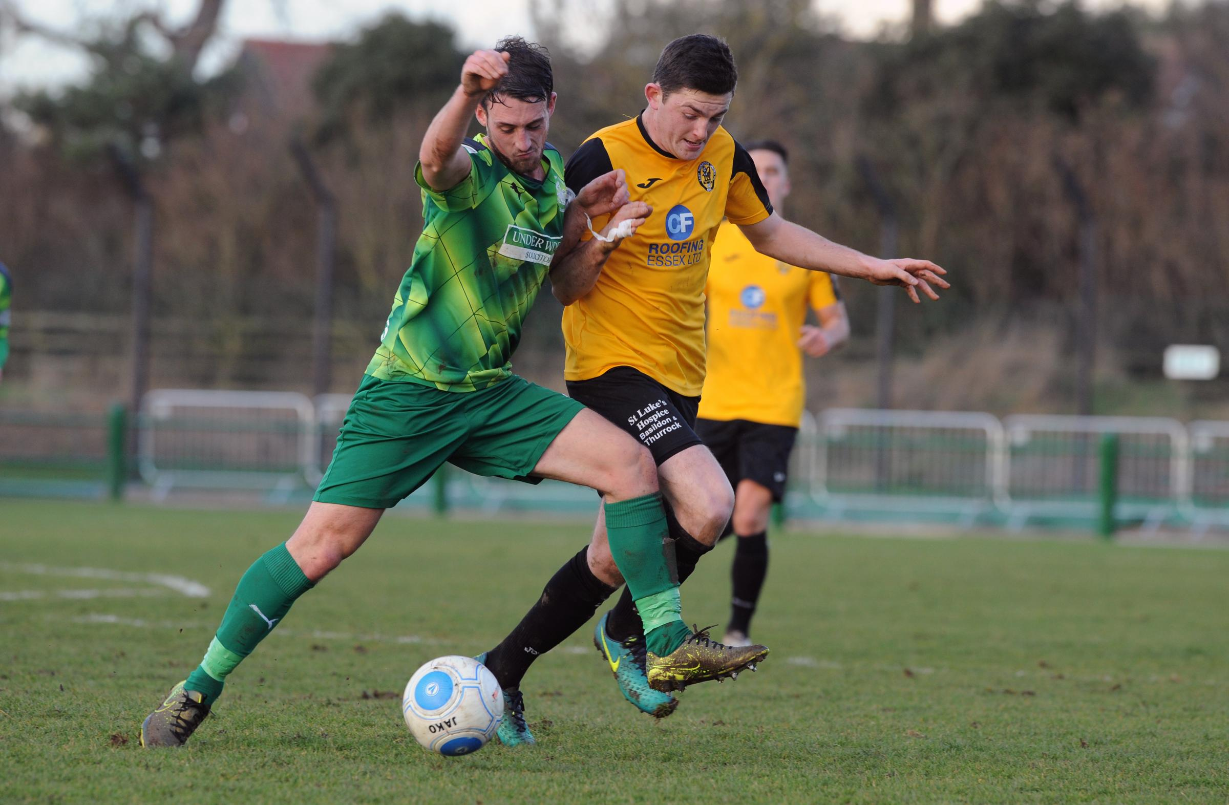 Chelmsford bound - Tom Wraight, pictured playing for East Thurrock