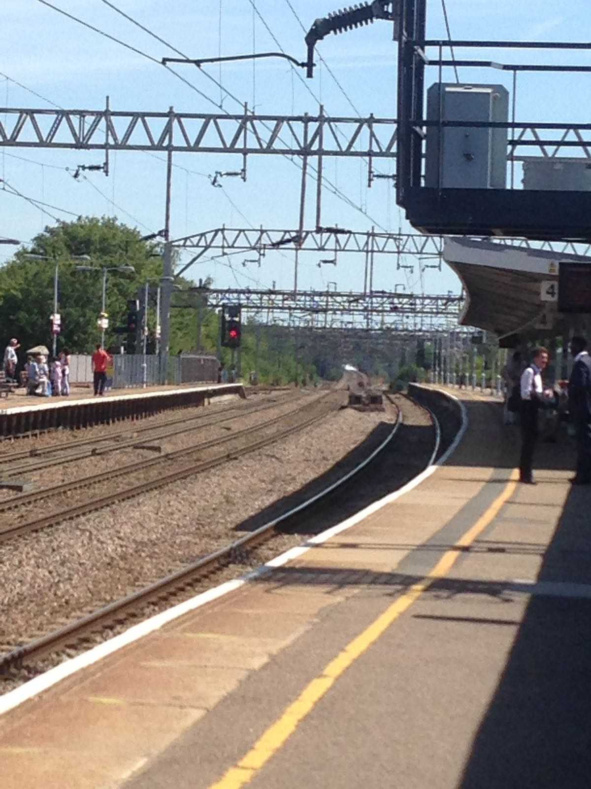 Fire by railway line causes major disruption